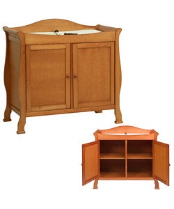 DaVinci Oak Color 2-door Changing Table