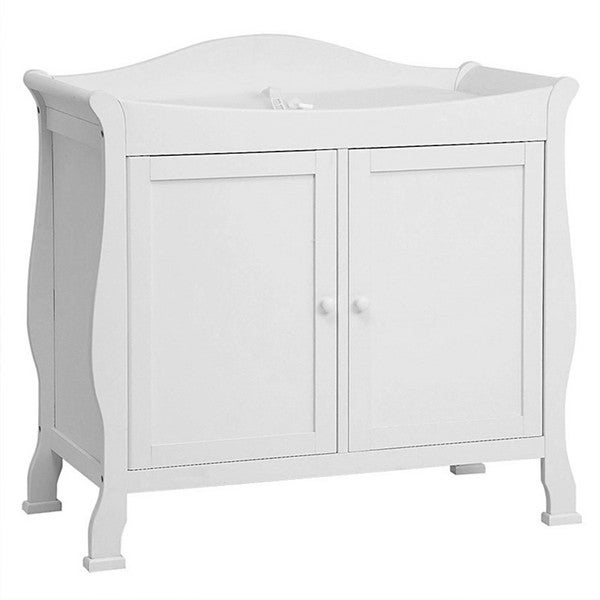 DaVinci Pure White 2-door Changing Table