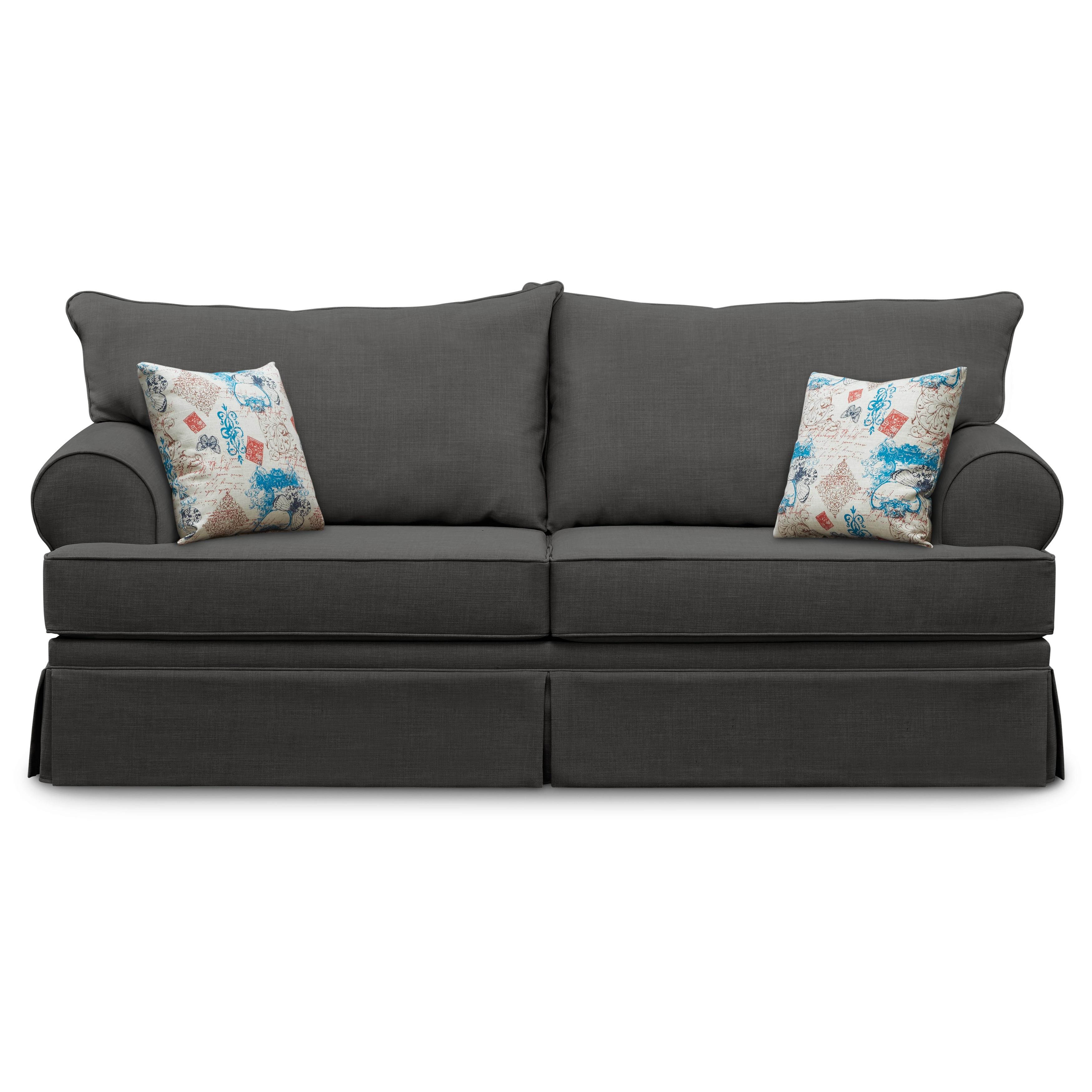 Art Van Olympia Charcoal Sofa 17102936 Shopping Great Deals On Sofas Loveseats