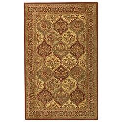 Handmade Elite Traditional Wool Area Rug (8' x 11')