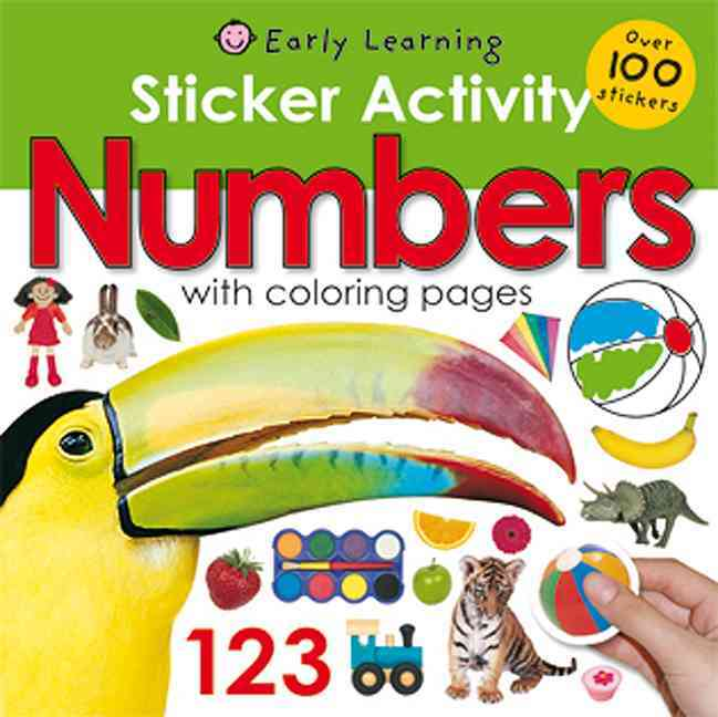 Sticker Activity Numbers (Paperback)