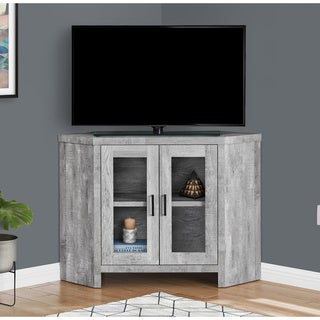 Carbon Loft Grey Reclaimed Wood TV Stand