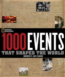 1000 Events That Shaped the World (Hardcover)