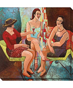 Cecile Broz 'It's 5 O'clock Somewhere' Canvas Art