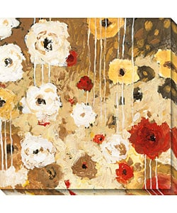 Gallery Direct Jaquiel 'Flower Dance I' Wrapped Canvas Art