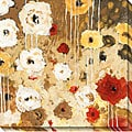 Jaquiel 'Flower Dance I' Wrapped Canvas Art
