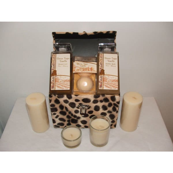Sweet Memory Brown Sugar Vanilla 5-piece Bath Set