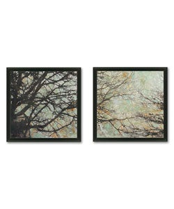 Sara Abbott 'Enchanted' 2-piece Framed Art Set