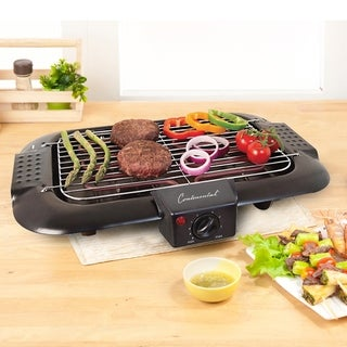 Continental Electric Indoor/Outdoor BBQ Grill, Black