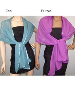 Luxurious Chiffon Wrap (Pack of 2)