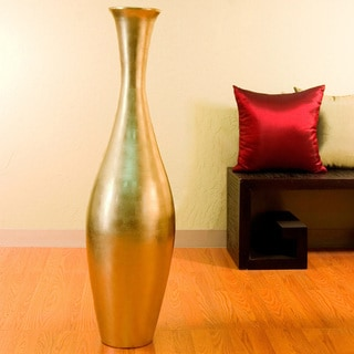 Egret 44-inch Tall Floor Vase and Natural Branches