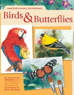 Painter's Quick Reference Birds & Butterflies (Paperback)