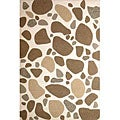 Hand-tufted Stone Walk Wool Rug (4' x 6')