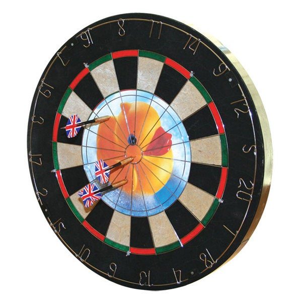Insert-a-Photo Dart Board