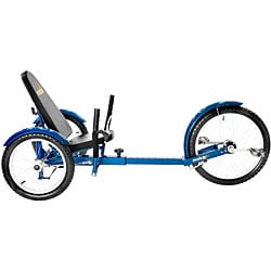 MoboTriton Pro Ultimate 3-wheeled Blue Cruiser