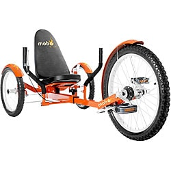 MoboTriton Pro Ultimate 3-wheeled Orange Cruiser
