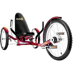 Mobo Triton Pro Ultimate 3-wheeled Red Cruiser