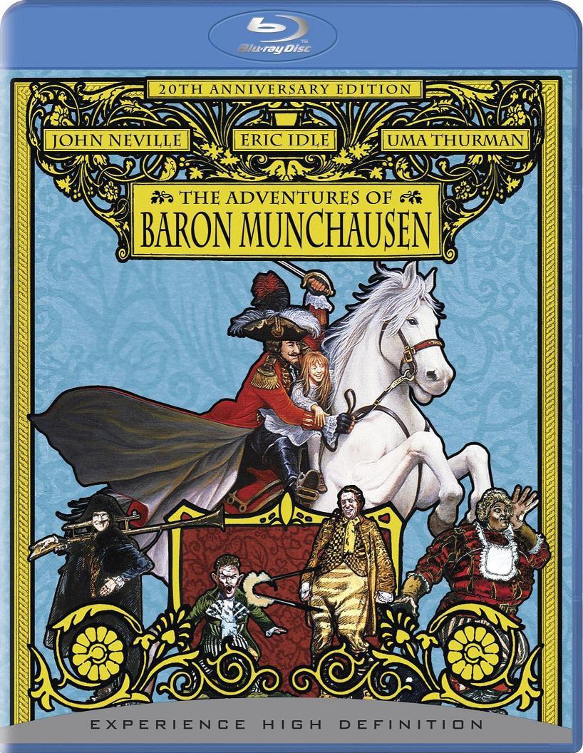 Adventures of Baron Munchausen, The 20th Anniversary Edition (Blu-ray Disc)