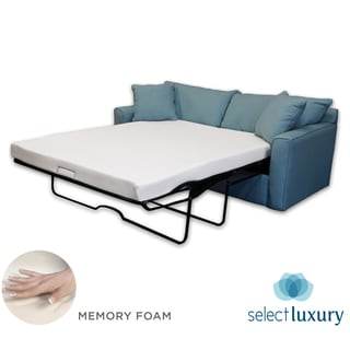 Select Luxury New Life 4.5-inch Twin-size Memory Foam Sofa Bed Sleeper Mattress