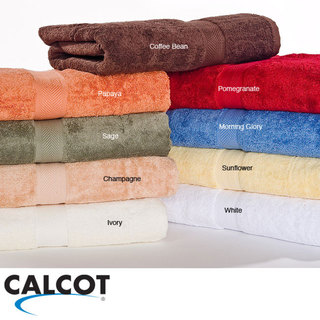 Calcot Supima Cotton Loop Fast-Drying Towels 6-pieceTowel Set