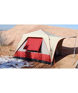 Deluxe 4-person Canvas Black Pine Turbo Tent
