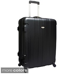 Traveler's Choice Rome 28-inch Hardside Spinner Upright Suitcase