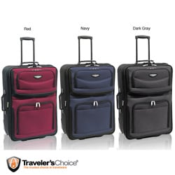 Travel Select by Traveler's Choice Amsterdam 25-inch Expandable Upright Suitcase