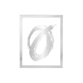"Parkwood Shiny Silver Poster Frame 24"" x 36"""