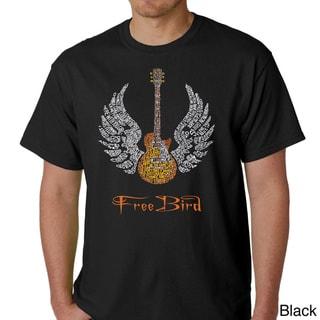 Skynyrd Men's Rock & Roll Freebird 'Lyric' T-shirt