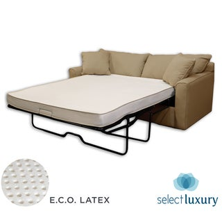 Select Luxury E.C.O. Latex 4.5-inch Full-size Sofa Bed Sleeper Mattress