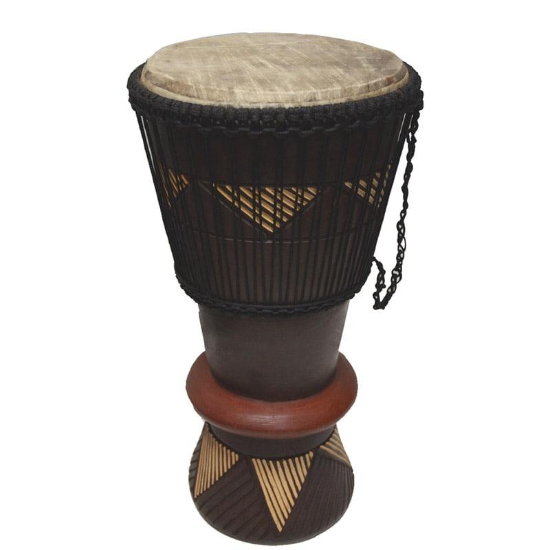 Handcrafted Bogolabo Drum (Ghana)
