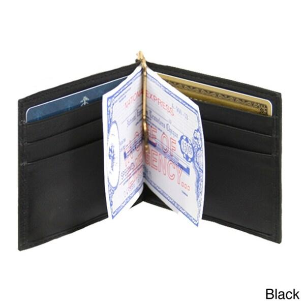 Royce Leather Money Clip Wallet
