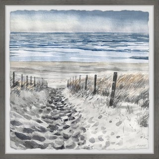 Sandy Pathway' Framed Painting Print