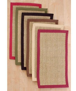Basketweave Seagrass Rug (2' x 3'4)