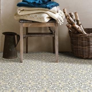 Buchanan, Peel & Stick Antico Floor Tiles