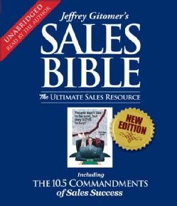 Sales Bible: The Ultimate Sales Resource (CD-Audio)