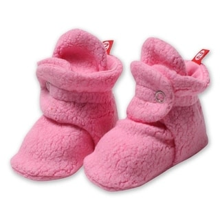 Zutano Hot Pink Cozie Fleece Booties 3M 6M 9M 12M 18M Baby Socks