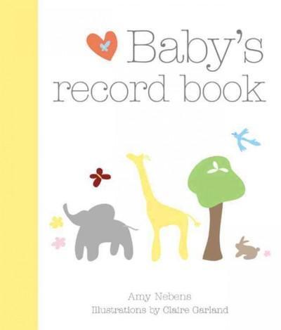 Baby's Record Book (Hardcover)