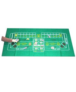 Craps Felt Layout for Home Games