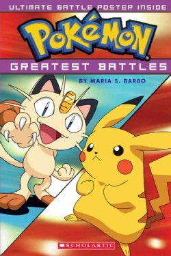 Pokemon's Greatest Battles (Paperback)