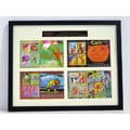 Kids Did It! Animals Framed Stamp Collection