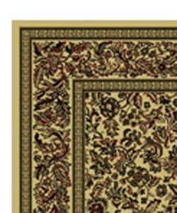 Caroline Floral Ivory Rug Set (3 pieces)