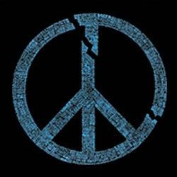 Los Angeles Pop Art Peace Symbol Women's T-shirt