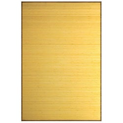 Natural Bamboo Rug (3' x 5')