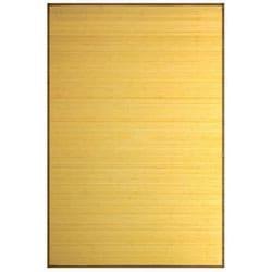 Natural Bamboo Rug (4' x 6')