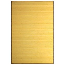 Natural Bamboo Rug (2' x 7')