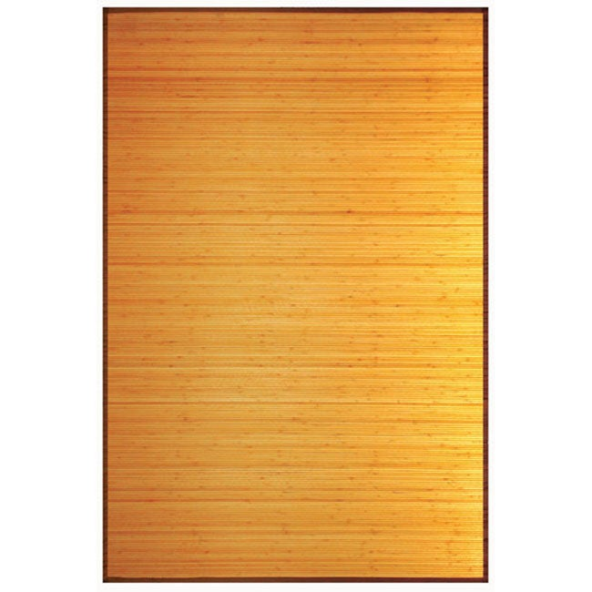 Camel Rayon from Bamboo Rug (4' x 6')