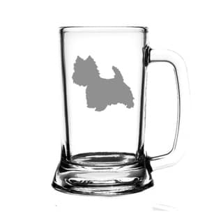 West Highland White Terrier Dog 16oz. Beer Mug
