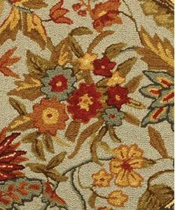 Safavieh Handmade Paradise Light Blue Wool Rug (4' Round)