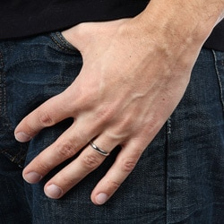 Stainless Steel Slim Comfort Fit Ring